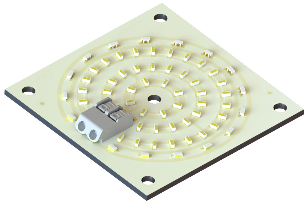 LED Module, which can be used in luminaire needing good light distribution.