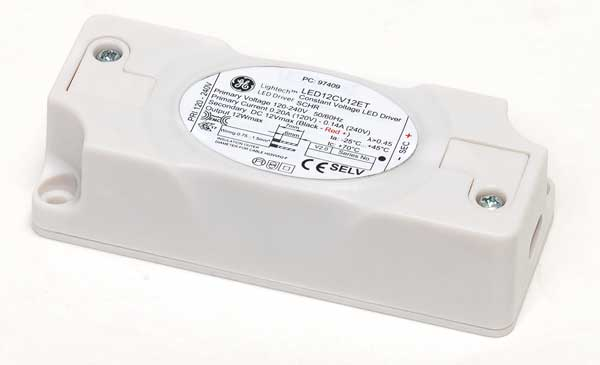 GE Lightech 12W, 12V LED driver