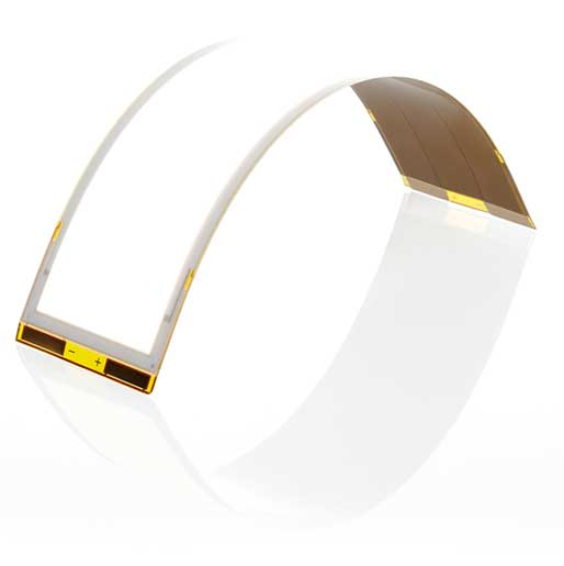 Flexible OLED lighting