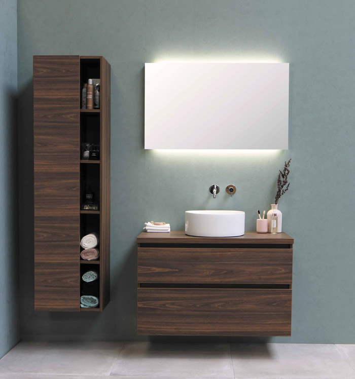 indirect lighting in bathroom